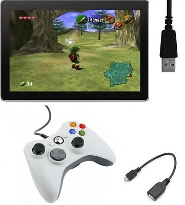 xBox 360 Type Micro USB Controller Gamepad Fo Android Smartphone Tablet Emulator