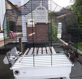 Medium Bird Cage - Suitable for 2 budgies