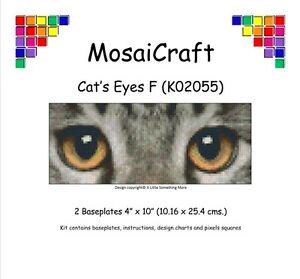 MosaiCraft-Pixel-Artigianato-Mosaico-Arte-Kit-034-Di-gatto-Occhi-F-034-Pixelhobby