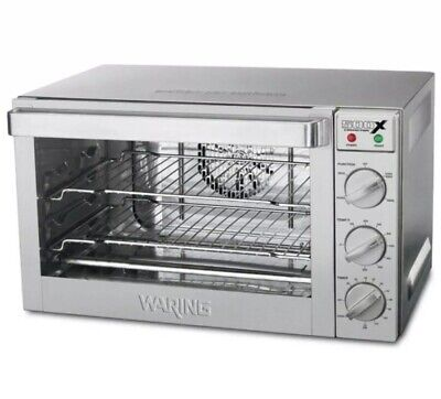 Waring Wco500x Electric Countertop 12- Sheet Size Commercial Convection Oven