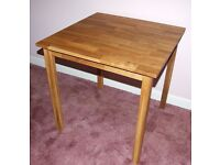 Solid oak dining/occasional table