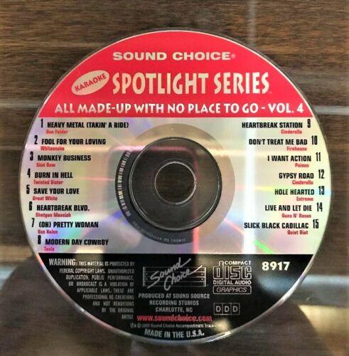 SOUND CHOICE KARAOKE SPOTLIGHT CD+G - 8917 - 80S ROCK - CDG