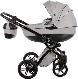 Knorr-Baby-Alive-Be-Carbon-2in1-Kombi-Kinderwagen-Grau-Schwarz-3762-3