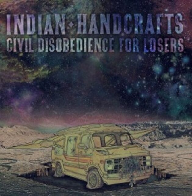 INDIAN HANDCRAFTS - CIVIL DISOBEDIENCE FOR LOSERS  CD  11 TRACKS ROCK  NEU