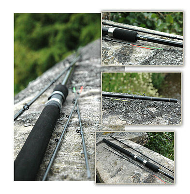 CLEARANCE 10' FEEDER MATCH CARP LEGER QUIVER RODS WITH 3 TIPS SPECIAL OFFER
