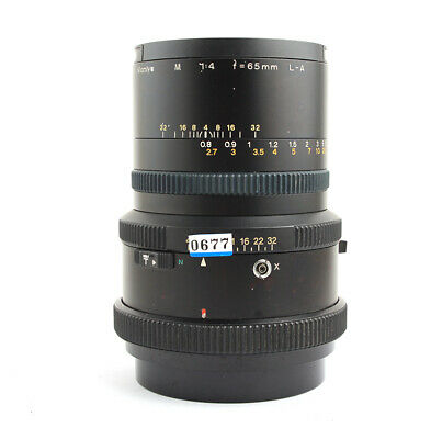 Mamiya M 65mm F4 L-A Floating Lens For RZ67 pro II II