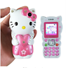 Unlocked Hello kitty Bar Mobile Power Small Cartoon Dual SIM Mini Mobile Phone