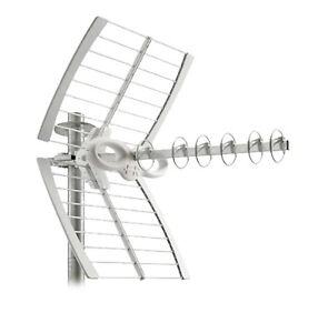 Fracarro sigma 6 hd lte antenna tv dtt uhf digitale terrestre for Antenne terrestre interieur