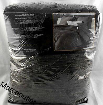Donna Karan Home Radiance KING Quilt Charcoal - $61.00