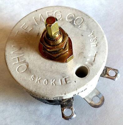 Ohmite Wirewound Rheostat Potentiometer Rjs50r 50 Ohm 50w - New