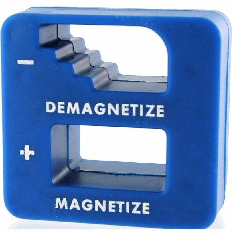MAGNETIZER DEMAGNETIZER MAGNETIC TOOL FOR SCREWDRIVER TIPS SCREW BITS PICK UP US Hand Tools