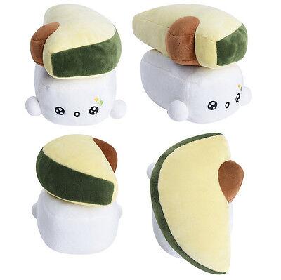 "Sushi 6"" Avocado Toy Cushion Bedding Cute Pillow Choba Soft Cotton Japanese Food"