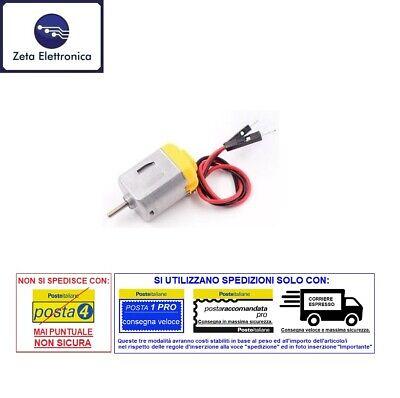 Scooter Eléctrico Dc 3V 5V 6V Mini Motor Con Cables Anche para...