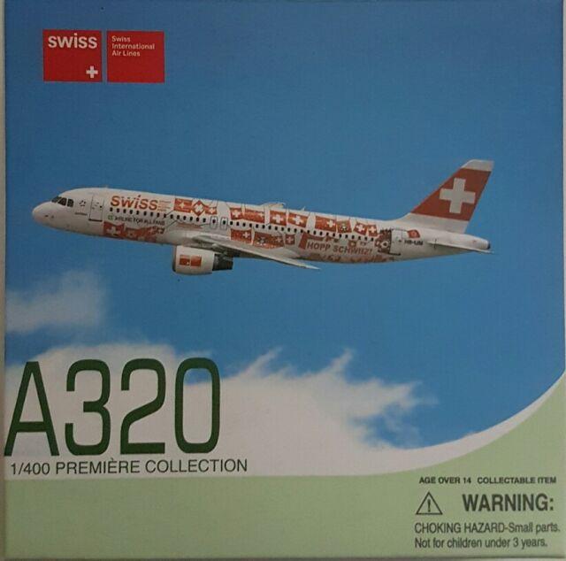 Dragon Wings Swiss A320 1:400