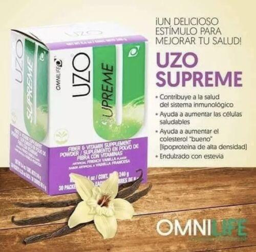 OMNILIFE UZO Supreme 30 Sachets Uzo Free Shipping