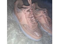 Women's Nike trainers size 3 pink