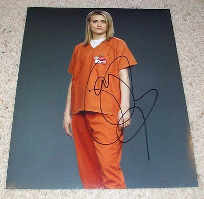 Taylor Schilling Signed Orange Is The New Black 11X14 Photo W Exact Proof
