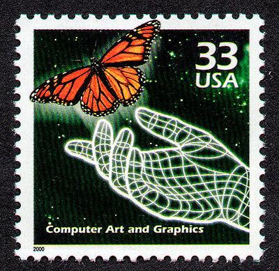 UNITED STATES, SCOTT # 3191-F, COMPUTER ART & GRAPHICS, ELECTRONIC ART,ANIMATION