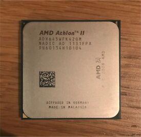 AMD Athlon II x4 645 - 3.1 GHz Quad Core Processor CPU [ADX645WFK42GM]