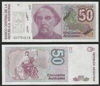 Argentina - 50 Australes Nd (1985-89) Unc Pick 326b (1) -  - ebay.it