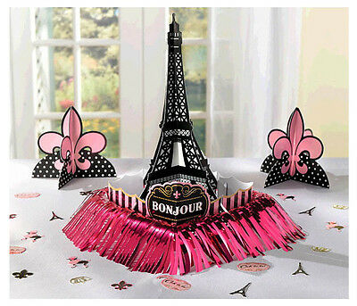 A Day in Paris Table Decorating Kit Wedding Birthday Party Supply Bridal Shower
