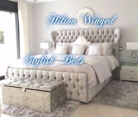 NEW-HITON HANDMADE WING BED***£299+FREE DELIVERY****