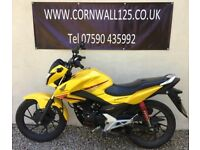 Honda CB 125 F 125cc 2017 Learner Legal Only 9 Months Old Exellent Condition