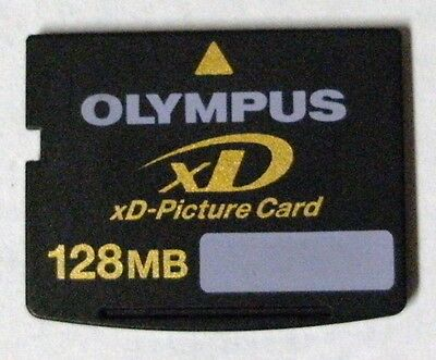 - Olympus or Fuji xD 128MB Memory Card - FREE Protective Case !!