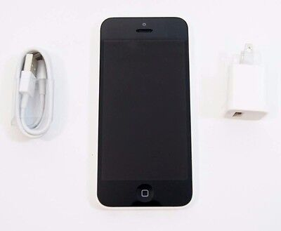 Good Used Apple iPhone 5C 16GB White Unlocked GSM T-Mobile Metro AT&T A1532