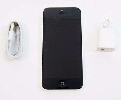 Used Apple iPhone 5C 16GB Verizon Unlocked GSM A1532 White Phone Clean ESN