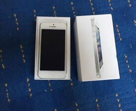 Excellent iPhone 5, 64 gb, White, Unlocked, can deliver