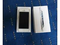 16 gb iPhone 5, White, with accessories, on Vodafone