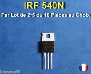 LOT-AU-CHOIX-DE-2-5-OU-10-TRANSISTORS-MOSFET-IRF540