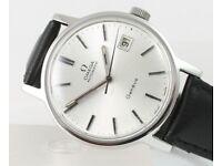 Rare vintage gents Omega Automatic Genève watch 1973 Serviced Sept '17
