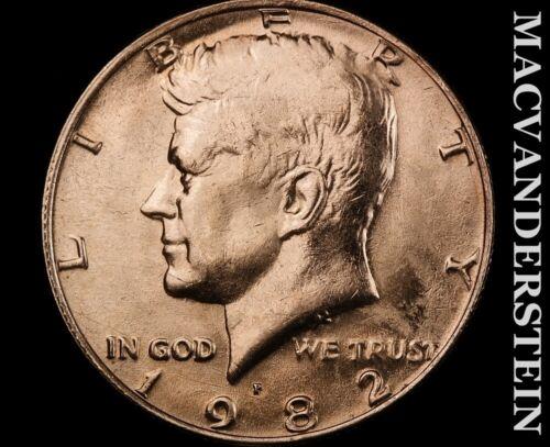 1982-D Kennedy Half Dollar-Choice Gem Brilliant Uncirculated V9450 - $6.50