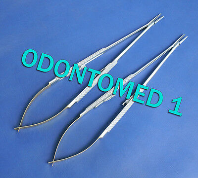 2 Tc Castroviejo Surgical Needle Holder 8 Straight W Tungsten Carbide