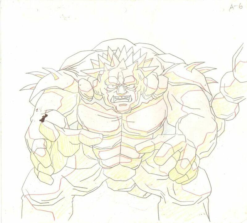 Anime Genga not Cel Yu Yu Hakusho #159