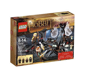 LEGO Lord of The Rings & Hobbit Escape from Mirkwood Spiders