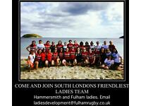 Hammersmith and Fulham female rugby club