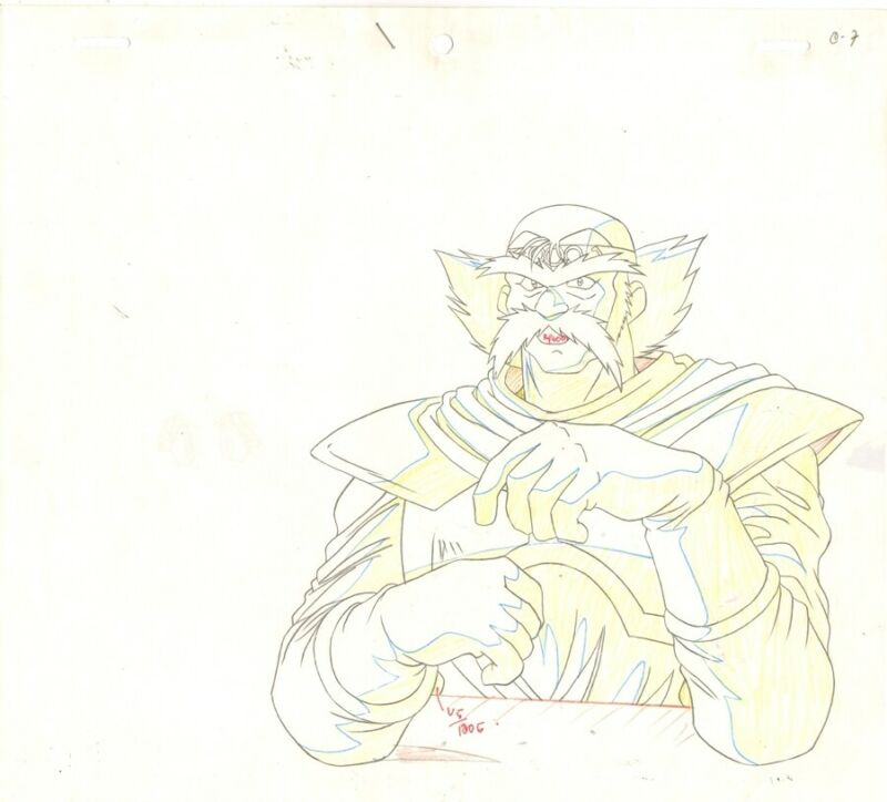 Anime Genga not Cel Slayers #221