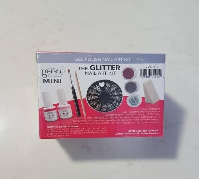 Gelish Mini Trends Nail Art Kit Glitter - NEW | Accessories ...