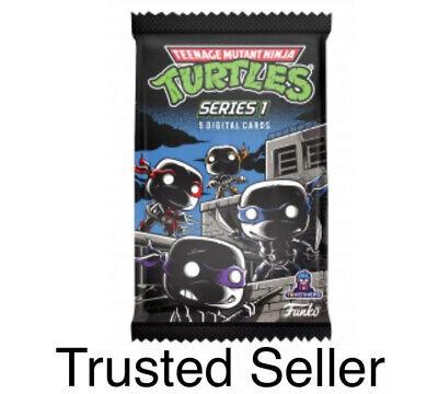Funko Teenage Mutant Ninja Turtles TMNT NFT Standard Pack Unopened #6, 854 WAX