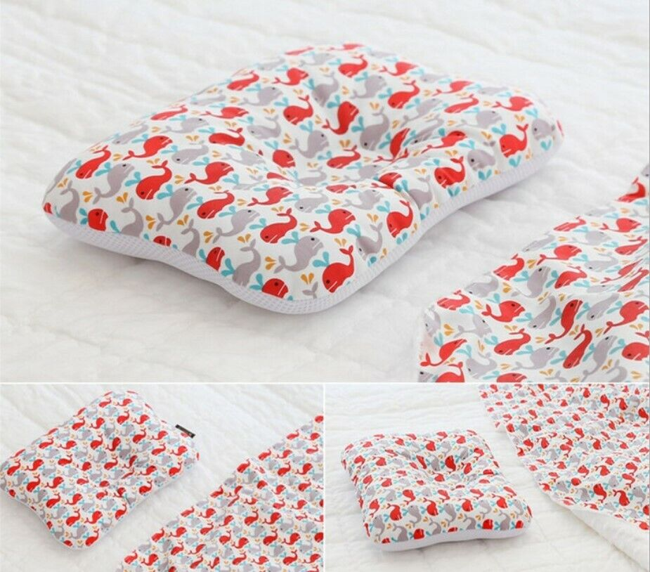 Baby Infant Newborn Pillow Flat Head Sleeping Support Prevent Soft Breathable #12