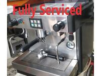 One group commercial coffee machine