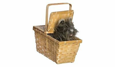The Wizard of Oz Dorothy's Toto in Basket Halloween Costume Accessory~Rubies 583