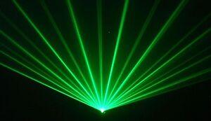 Willi Pro GREEN Disco Laser Light for DJ karaoke club pub mobile dj LAZER PARTY