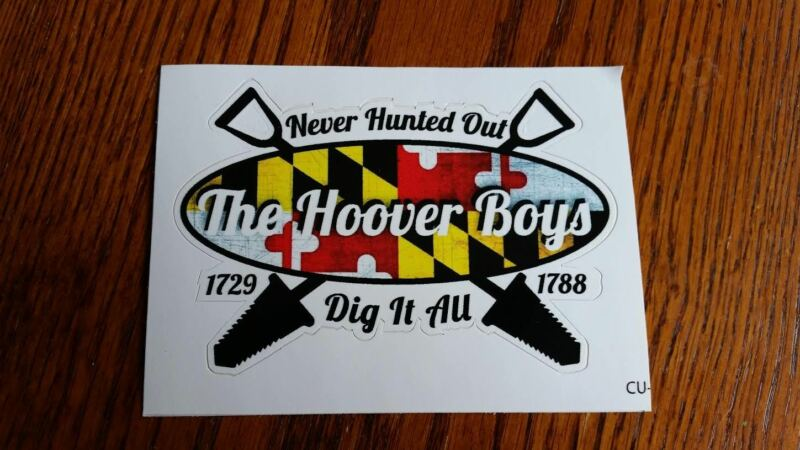 The Hoover Boys Sticker