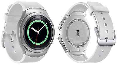 NEW INBOX Samsung Gear S2 SM-R730A 4G WHITE Smartwatch Unlocked AT&T