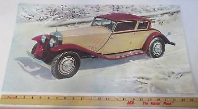 Плакаты и картинки 1930 Rolls Royce
