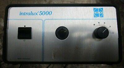 Volpi Intralux 5000 Fiber Optical Light Source Illuminator 442057